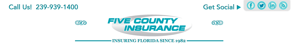 Five Counties Insurance Logo Linked to homepage